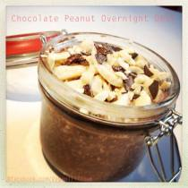 Chocolate Peanut Overnight Oats