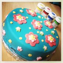 Blumen-Torte